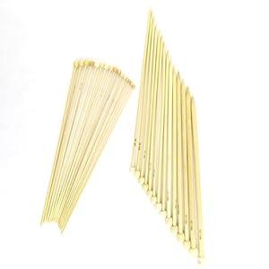 Bamboo Knitting Needles - Circular, Single Point, Double