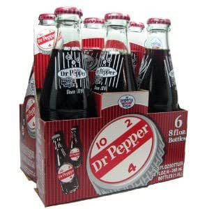 Dublin Dr Pepper 6 Pack Bottles - Pure Cane Sugar - Sealed