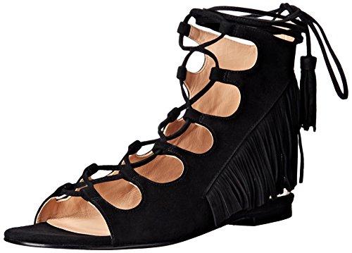Sigerson Morrison Women's Azzia Dress Sandal, Black, 9 M US