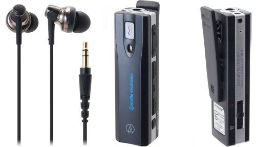 audio-technica ヘッドホンアンプ内蔵ワイヤレスステレオヘッドセット(ブラック) ATH-BT05 BK