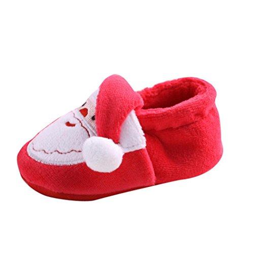 Ularma Bambini Scarpe Calde Stivali Scarpe Di Natale Per Neonati (13CM)