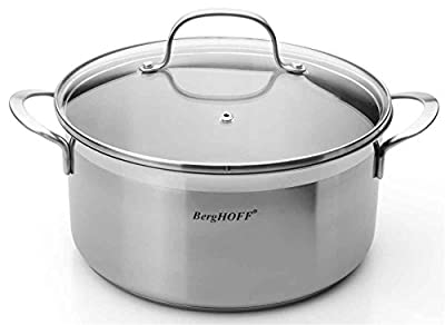BergHOFF 4.8Qt Bistro Covered Stockpot