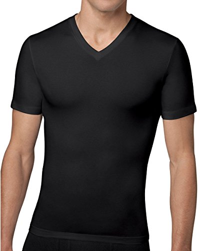 spanx-for-men-cotton-compression-v-neck-t-shirt-mit-v-ausschnitt-schwarz-xlarge