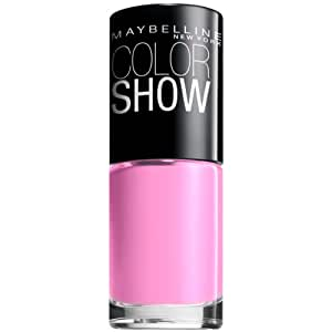 Maybelline New York Color Show Nail Lacquer, Chiffon Chic, 0.23 Fluid Ounce
