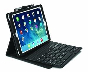 Kensington K97008DE KeyFolio Pro Folio Schutzhülle mit Bluetooth-Tastatur für Apple iPad Air