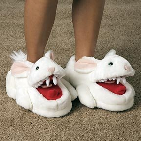 Fathers Day Gifts Monty Python Rabbit Slippers