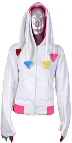 Cupcake Cult - Felpa con cappuccio Multicolore Bianco/Multicolore