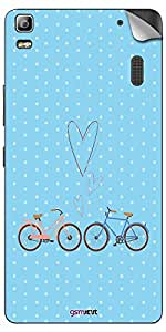 GsmKart LK3N Mobile Skin for Lenovo K3 Note (Blue, K3 Note-631)