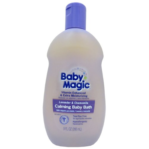 Magic Sliders 8016 Baby Magic Lavender And Chamomile Calming Baby Bath