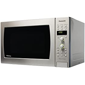 Panasonic NN-C994S Genius Prestige 1-1 2-Cubic-Foot 1100-Watt Convection Microwave Oven,... by Food Drying Books