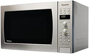 Panasonic NN-C994S Genius Prestige 1-1/2-Cubic-Foot 1100-Watt Convection Microwave Oven, Stainless