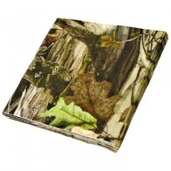 Next Camo Party Supplies 3 Ply 5in Beverage Napkins 16pk - 1