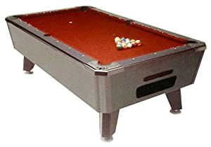 Valley Black Cat 7 Foot Pool Table with Ball Return