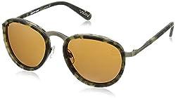 Spy Optic Unisex Nautilus Happy Lens Collection Sunglasses, Matte Camo Tort/Bronze, One Size Fits All