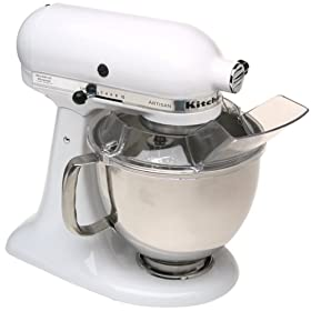 KitchenAid KSM150PSWH Artisan Series Stand Mixer (White) | GoSale :  gosale kitchenaid artisan kitchenaid artisan mixer ksm150pswh