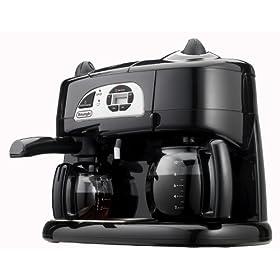 DeLonghi BCO130T Combination Coffee/Espresso Machine