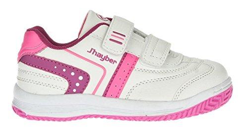 """J"""" HAYBER, Sneaker bambine bianco Size: 24"""