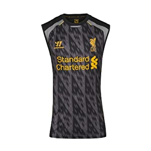 2013-14 Liverpool Warrior Sleeveless Jersey (Black)