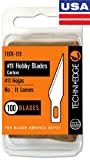 Techni Edge #11 Hobby Blades - 100 Pack