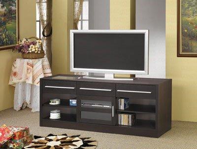 Coaster Home Furnishings 700650 Contemporary TV Console, Cappuccino photo