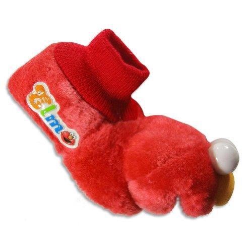 Cheap Elmo by Sesame Street – Toddler Boys Elmo Slipper Bootie, Red 23943 (B007PID8FE)