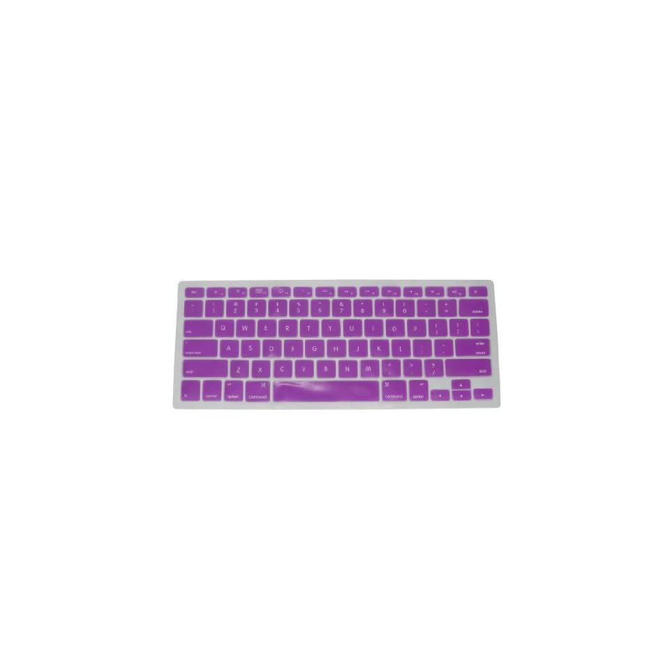 Keyboard Silicone Cover Skin for New Aluminum Unibody MacBook Fits Snugly