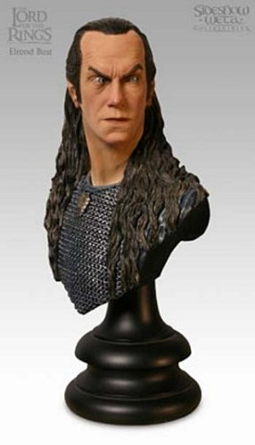 Picture of Sideshow Lord of the Rings - Elrond, Herald of Gil-Galad Bust Figure (B00070KENG) (Sideshow Action Figures)