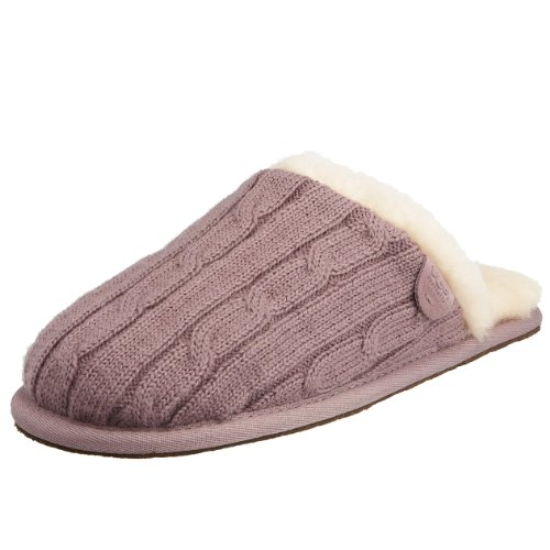 ugg scuffette knitted slippers