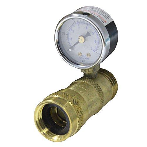 Marshall Gas Controls G-793 Water Pressure Regulator with Gauge