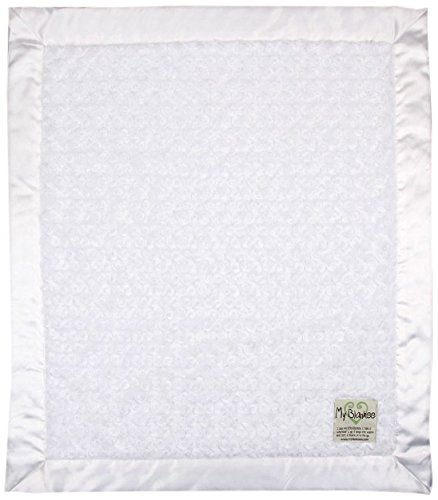 "My Blankee Luxe Snail Baby Blanket, 30"" x 35"", White"