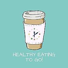 Healthy Eating to Go! Hörbuch von Kim Fleckenstein Gesprochen von: Kim Fleckenstein