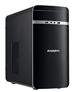 Zoostorm 7877-0430 Home PC (Intel Core i3-4130 3.40GHz, 3MB Cache, 6GB RAM, 2TB SATA HDD, DVDRW, Windows 8.1)