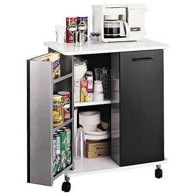 Safco Refreshment Stand Black