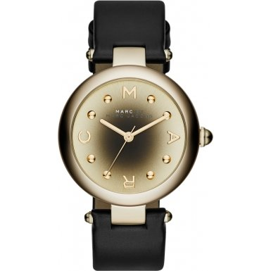 marc-jacobs-womens-quartz-watch-with-silver-dial-analogue-display-and-chocolate-leather-bangle-mj140