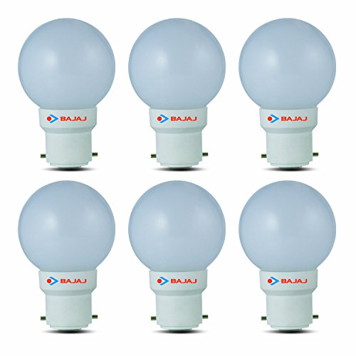 Bajaj-0.5W-B22-LED-Bulb-(White,-Pack-Of-6)
