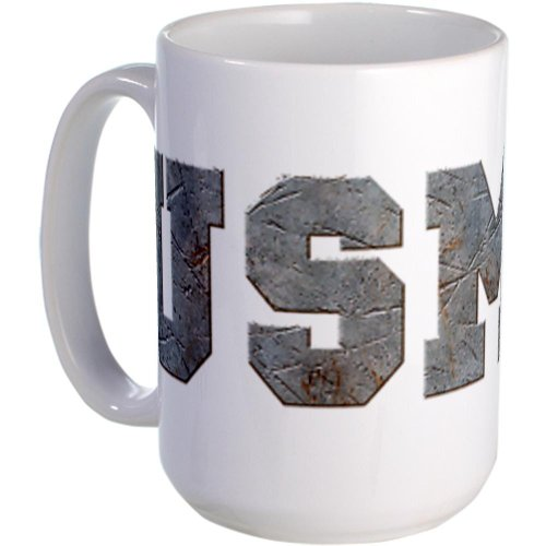 Cafepress Rusty Usmc Large Mug Large Mug - Standard