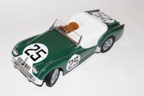Triumph TR3S Cabrio 24h LM Le Mans Nr 25 1959 1/18 Kyosho Modell Auto