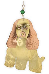 Pilgrim Imports Cocker Spaniel Metal Fair Trade Ornament