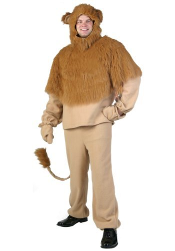 Fun Costumes unisex-adult Plus Size Storybook Lion Costume 4X (Cowardly Lion Costume Plus Size)