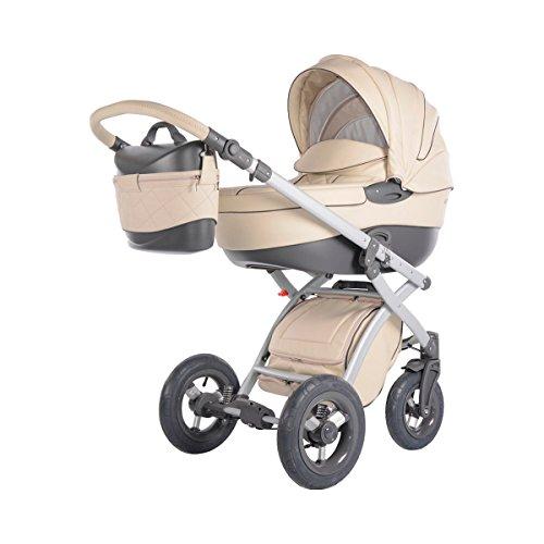 preisvergleich und test knorr baby kombikinderwagen alive pure eco leder ecru. Black Bedroom Furniture Sets. Home Design Ideas