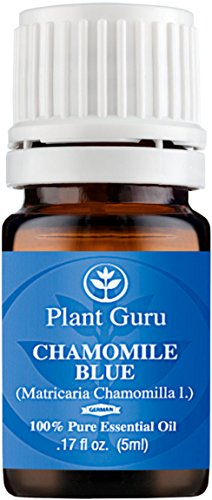 Chamomile Blue (German) Essential Oil. 5 ml. 100% Pure, Undiluted, Therapeutic Grade. ★★★UNCUT DARK BLUE★★★ (Blister Kit Vaporizer compare prices)