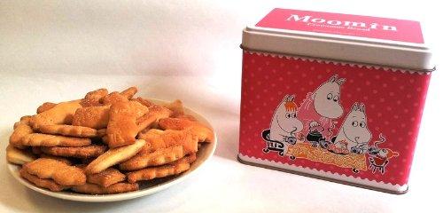 北陸製菓 ムーミンママのシナモンブレッド(角缶) 130g