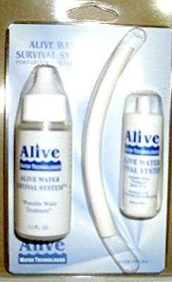 Alive Water Survival System Portable Water Treatment