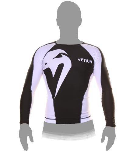 Venum Original Giant Longsleeve Rashguard Black//White