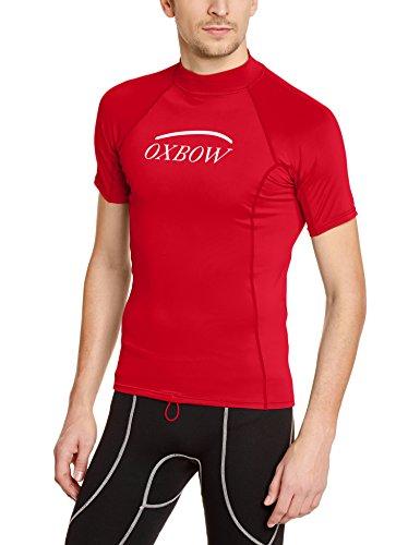 Oxbow Betel-Maglietta-Top sportivo a maniche corte, da uomo