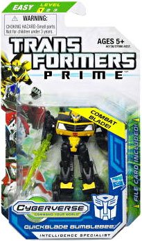 Transformers Prime Legion Class Action Figure, Quickblade Bumblebee, 3 Inch - 1