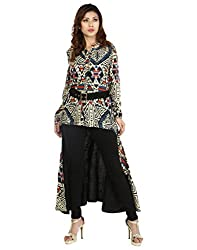InDzone Casual, Party Full Sleeve Printed Women's Top-S