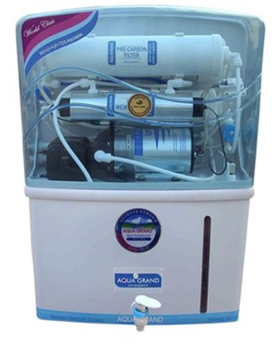 Aquagrand Water Purifier with RO + UV + TDS And Purification Capacity Of 15 Litres Per Hour