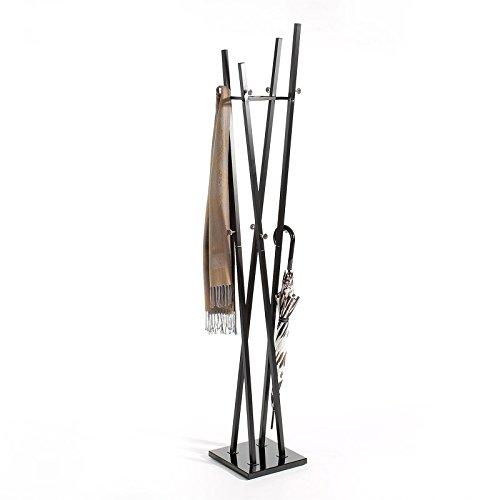Kleiderstnder-Gardarobenstnder-Kleiderstange-Gardarobe-VITUS-Metall-schwarz-lackiert