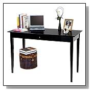 Espresso Finish Classic Style Writing Desk